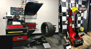 New Italian Teco Tyre Machine